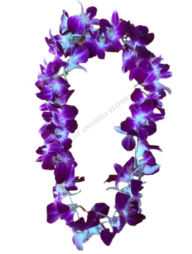 "Type 3 ""Hawaii"" Styled Orchid Welcome Garland"