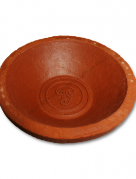 Om Symbol Brown Clay