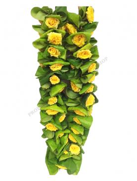 Vetthilai Garland / வெற்றிலை மாலை With India Rose Insertion