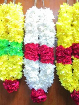 Mixed Chrysanthemum Garland